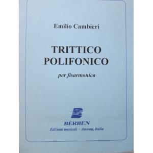 CAMBIERI EMILIO  TRITTICO...