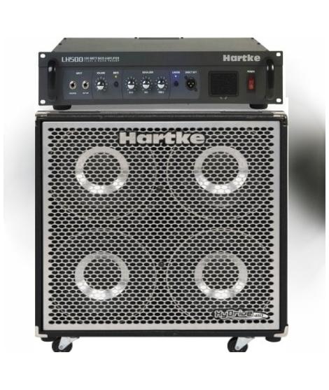 TESTATA LH 500 + CASSA HX 410 HARTKE