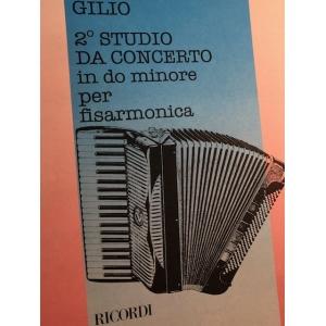 GILIO 2° STUDIO DA CONCERTO...