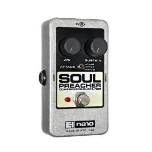 Electro-Harmonix Nano Soul Preacher Compressor Pedal