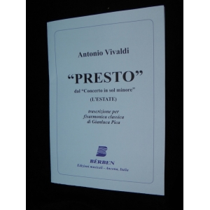 ANTONIO VIVALDI PRESTO