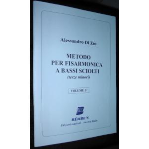 447 METODO PER FISARMONICA TERZE MINORI A BASSI SCIOLTI