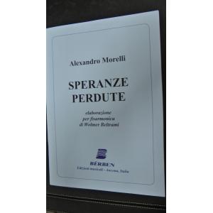 SPARTITI PER FISARMONICA 472 WOLMER BELTRAMI SPERANZE PERDUTE