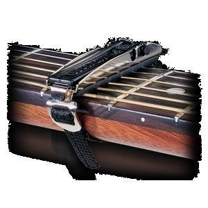 DUNLOP 15CD CAPO CURVED DELUXE - CAPOTASTO per chitarra folk ed elettrica