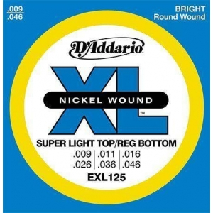 D'ADDARIO EXL125 XL NICKEL...