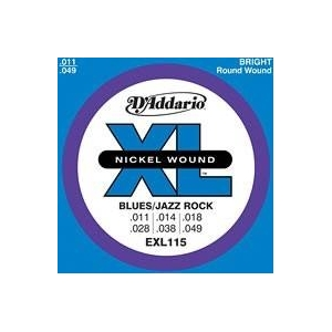 D'ADDARIO EXL115 NICKEL...