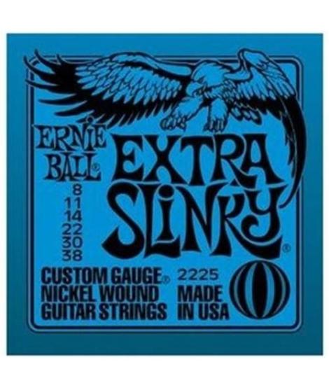 ERNIEBALL EXTRA SLINKY 2225 MUTA ELETTRICA