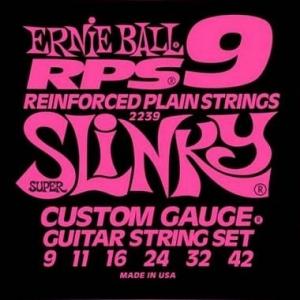ERNIE BALL 2239 REINFORCED PLAIN STRINGS