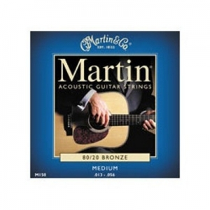 Martin M150 Medium Bronze 80/20 Acoustic Guitar Strings (13-56)