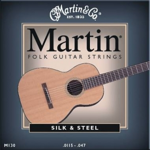 MARTIN & CO. - M130 - MUTA PER CHITARRA FOLK SILK & STEEL