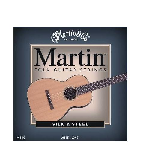 MARTIN & CO. - M130 - MUTA PER CHITARRA FOLK SILK & STEEL