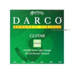 Martin D5000 Darco - 80/20 Bronze Extra Ligh