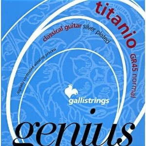 Galli GR45 GENIUS TITANIO PROcoated Set, Normal Tension