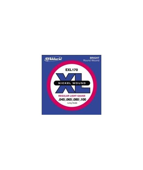 EXL170 - REGULAR LIGHT MUTA PER BASSO 4 CORDE