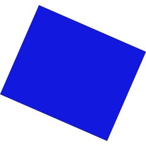 PROEL FOGLIO GELATINA 50X61 CM - PLGLFGB PRIMARY BLU