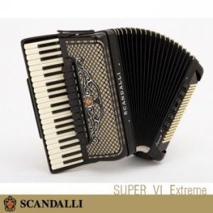 Scandalli SUPER VI Extreme 120 NUOVO ACCORDION FISARMONICHE Fisarmonica GARANZIA 5 ANNI SPEDIZIONE GRATUITA
