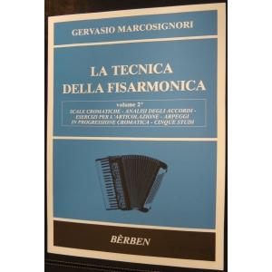 METODO METODI PER FISARMONICA 1446 MARCOSIGNORI-LA TECNICA DELLA FISARMONICA-VOLUME 2°-BERBEN