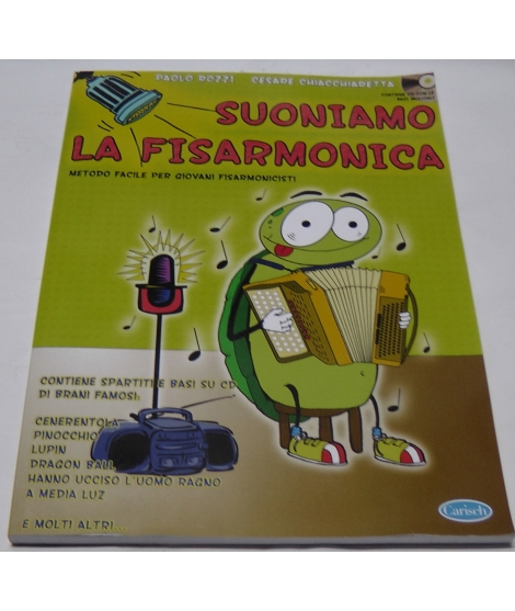 METODO METODI  PER FISARMONICA 1231 CESARE CHIACCHIARETTA-SUONIAMO LA FISARMONICA