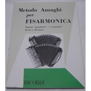METODO METODI  METODI  PER FISARMONICA 456 METODO ANZAGHI PER FISARMONICA