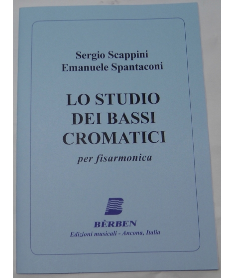 METODO METODI PER FISARMONICA 1514 SCAPPINI-SPANTACONI LO STUDIO DEI BASSI DELLA FISARMONICA