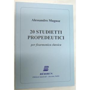 METODO METODI  PER FISARMONICA 1222 ALESSANDRO MUGNOZ-20 STUDIETTI PROPEDEUTICI