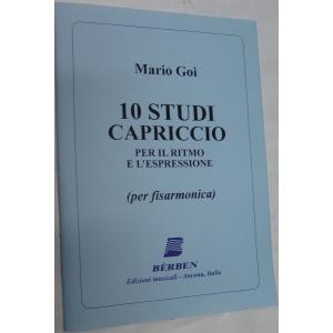 METODO METODI   PER FISARMONICA 1419 MARIO GOI -10 STUDI CAPRICCIO