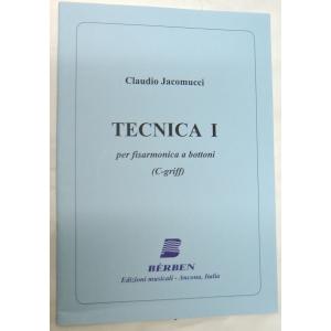 METODO  PER FISARMONICA 1477 CLAUDIO JACOMUCCI-TECNICA I ( C.GRIFF )