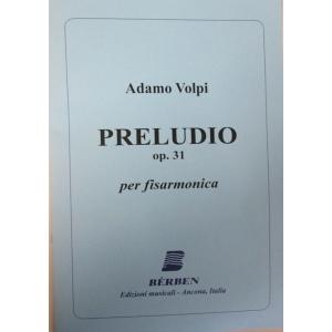 PRELUDIO OP 31 ADAMO VOLPI