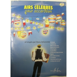 AIR CELEBRES POUR ACCORDEON...