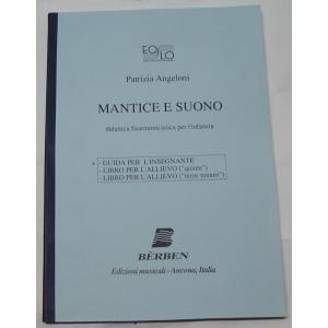 METODO PER FISARMONICA 450 ANGELONI MANTICE E SUONO- GUIDA PER L'INSEGNANTE