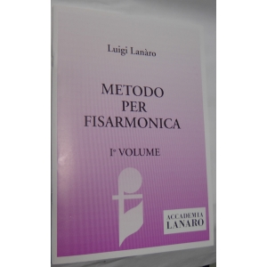 LUIGI LANARO METODO PER FISARMONICA VOLUME 1°