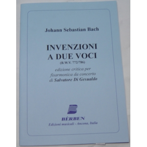 JOHANN SEBASTIAN BACH INVENZIONI A DUE VOCI