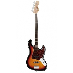Squier (by Fender) Vintage Modified Jazz Bass 3 Tone Sunburst