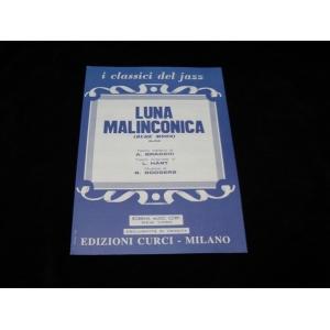 SPARTITI PER FISARMONICA 1197 LUNA MALINCONICA I CLASSICI DEL JAZZ