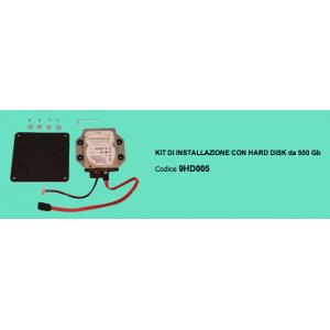 KIT DI INSTALLAZIONE CON HARD DISK da 500 Gb 9HD005 KETRON