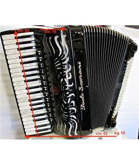 Paolo Soprani SUPER PAOLO 41/120/4 piccolo NUOVO ACCORDION FISARMONICHE Fisarmonica GARANZIA 5 ANNI