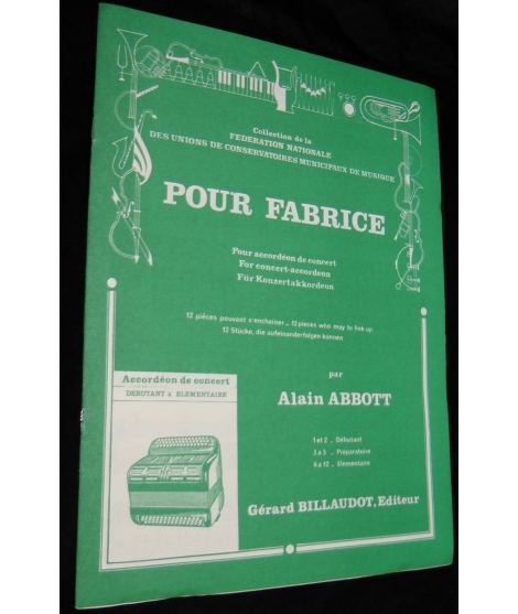 ALAIN ABBOT POUR FABRICE