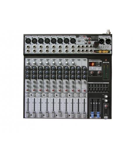 PAMX2.82 mixer con registrazione MP3 AUDIO DESIGN