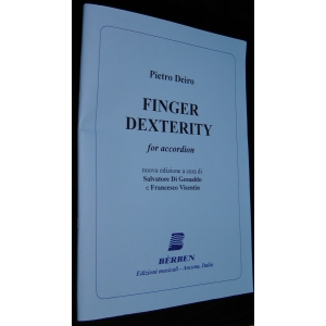 PIETRO DEIRO FINGER DEXTERITY FOR ACCORDION