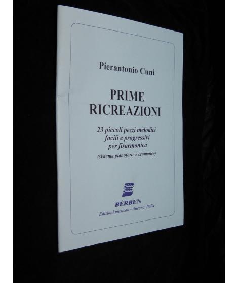 SPARTITI PER FISARMONICA 1186 PIERANTONIO CUNI- PRIME RICREAZIONI