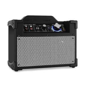 DJ-Tech Mini Cube BT Cassa portatile bluetooth USB AUX nero