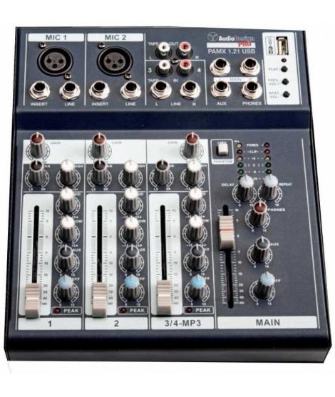 AUDIO DESIGN PRO PAMX 1.21 USB MIXER
