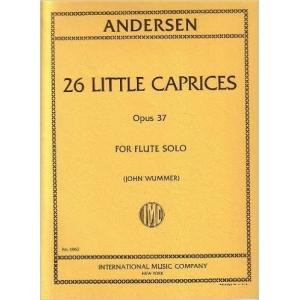 ANDERSEN 26 LITTLE CAPRICES OPUS 37 JOHN WUMMER