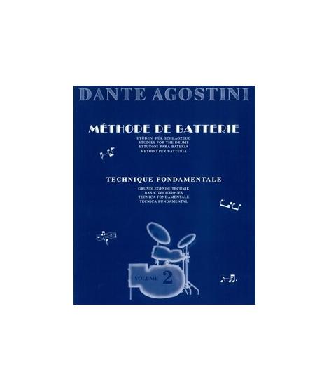 Agostini Methode de Batterie Vol.2 - Technique Fondamentale 803