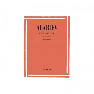 Alabiev - le rossignol RICORDI 1058