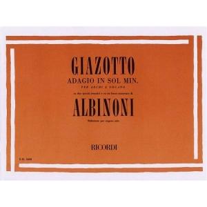 GIAZOTTO ADAGIO IN SOL MINORE RICORDI -1994
