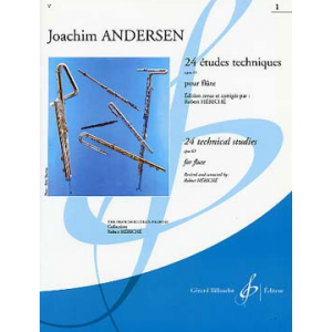 Andersen 24 Etudes Instructives, Op. 30 1862