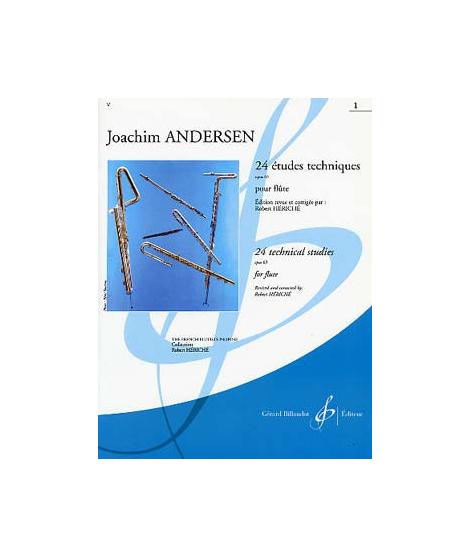 Andersen 24 Etudes Instructives, Op. 30 1862