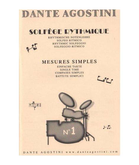 DANTE AGOSTINI SOLFÈGE RYTHMIQUE v.1 -749