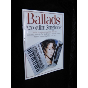 SPARTITI PER FISARMONICA 643 BALLADS ACCORDION SONG BOOK